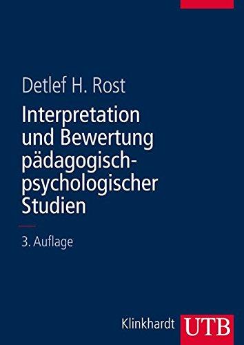 Interpretation und Bewertung pädagogisch-psychologischer Studien: Eine Einführung