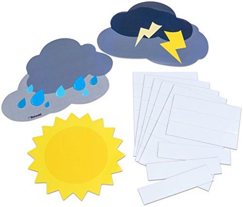 Betzold 757111 -Magnetisches Verhaltens-Wetter mit Namensschildern - Verhalten und Gefühle...