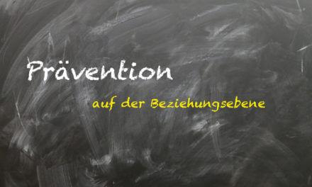 Unterrichtsstörungen-Prävention auf der Beziehungsebene