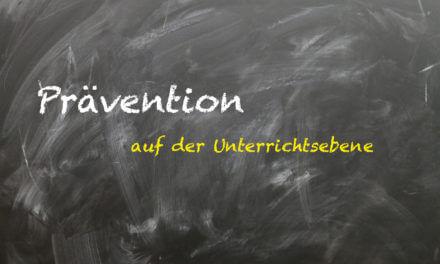 Unterrichtsstörungen-Prävention auf der Unterrichtsebene