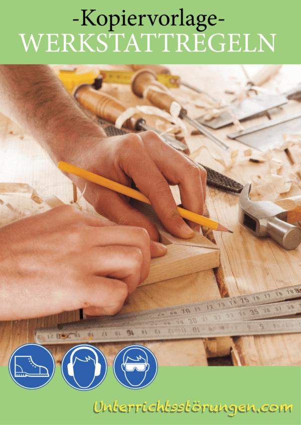 Kopiervorlage Werkstattregeln Cover